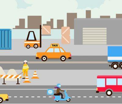 » Guía electrónica VeSafe, sobre riesgos laborales relacionados con los vehículos.